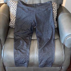 90 Degrees Dark gray cropped leggings
